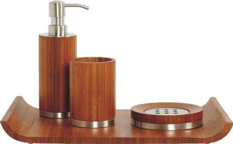 Accessori bagno in legno giaquinto for Accessori bagno in legno