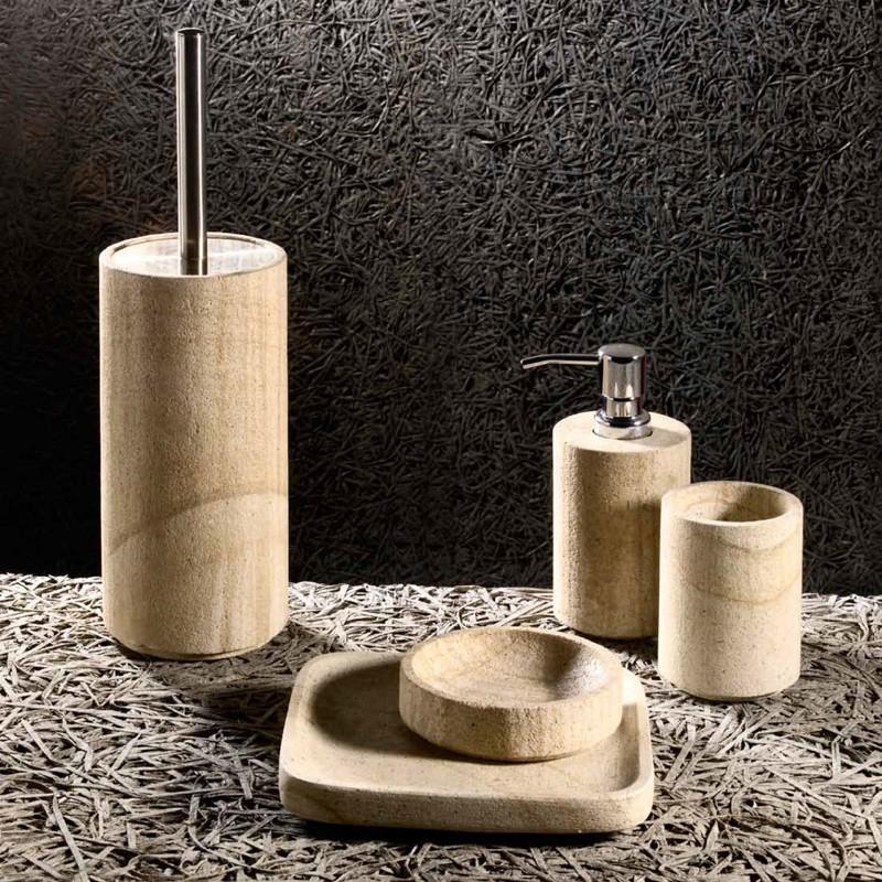 Accessori bagno in pietra giaquinto - Bagno in pietra ...