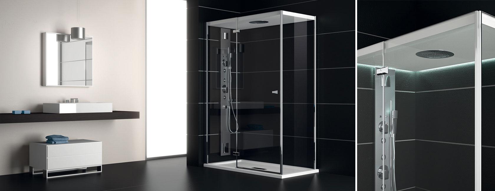 Box doccia vasca giaquinto for Arredo bagno vasca